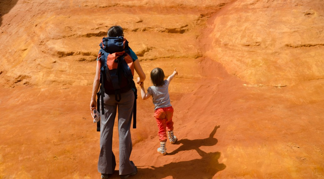 Promenade des ocres de Roussillon